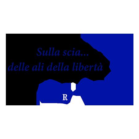Logo Sulla scia delle ali della libertà Distretto Rotaract 2120