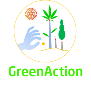 Logo Service Distrettuale GreenAction Distretto Rotract 2120